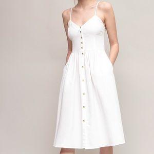 Rolla's Eve Linen Dress- Lulu's
